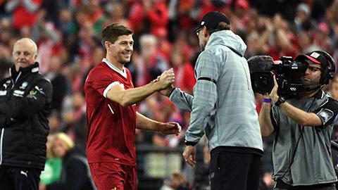 'Chỉ Gerrard mới thay thế được Klopp dẫn dắt Liverpool'