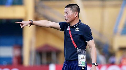 HLV Chu Đình Nghiêm (Hà Nội FC): 'Chúng tôi luôn tạo điều kiện tốt nhất cho cầu thủ'