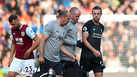 ĐT Anh đón tin buồn sau trận Liverpool đại thắng Burnley