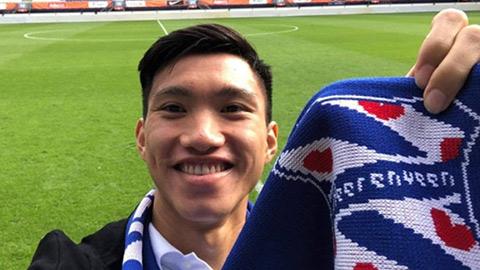 Báo Hà Lan: Văn Hậu sẽ thi đấu tối thiểu 20% số trận ở Heerenveen