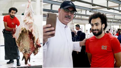 Lại thêm một fan đổi đời nhờ ngoại hình giống Salah
