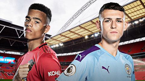 Sao trẻ M.U và Man City chung phòng trên tuyển U21 Anh