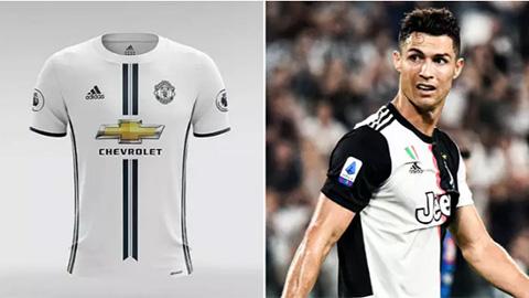 M.U có thể sử dụng áo đấu gần giống Juventus ở mùa giải 2020/21?