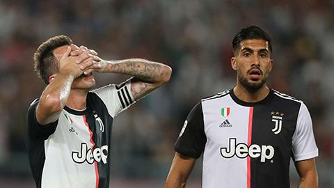 Juventus chốt danh sách dự Champions League 2019/20: Can và Mandzukic bị loại