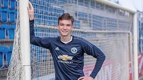 M.U đăng ký thủ thành 17 tuổi dự Europa League 2019/20