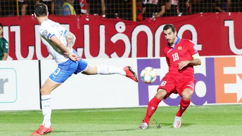 ĐT Italia đánh bại Armenia: Ngày của các tiền vệ AS Roma