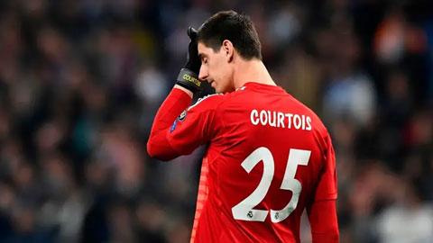 Courtois & cơn ác mộng 'Joe Hart người Bỉ' từ khi tới Real