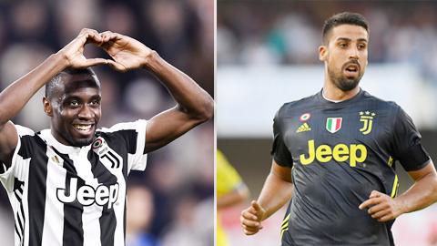 Khedira - Matuidi: 2 nhà VĐTG gánh trên vai tuyến giữa Juventus