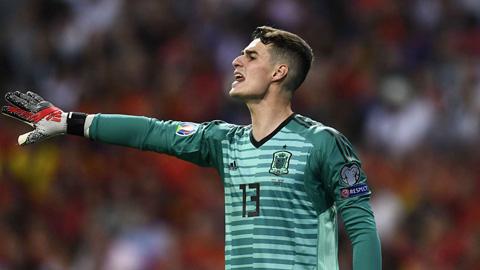 Kepa không được 'bảo kê' bắt chính ở tuyển Tây Ban Nha