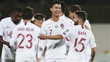 Ronaldo đi vào lịch sử sau cú poker ở vòng loại EURO 2020