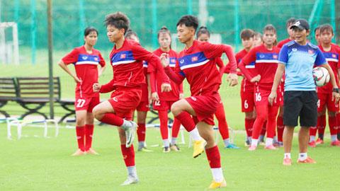 U16 nữ Việt Nam gấp rút chuẩn bị cho VCK U16 nữ châu Á 2019