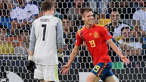 Tiền vệ Dani Olmo: Viên ngọc quý của bóng đá Tây Ban Nha