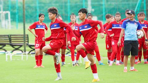 U16 nữ Việt Nam lên đường tham dự giải U16 châu Á 2019