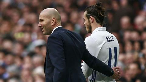 Zidane tin Bale là một cầu thủ vĩ đại