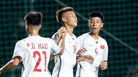 U16 Việt Nam tạm dẫn đầu BXH vòng loại châu Á