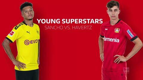 Kai Havertz vs Jadon Sancho: Ai mới là sao trẻ số 1 Bundesliga?