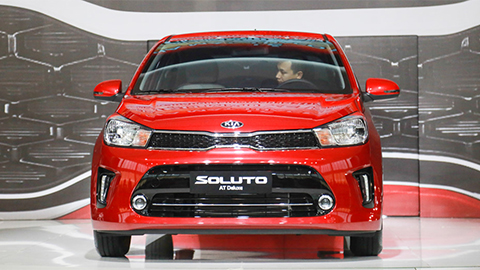 Kia Soluto có giá rẻ hơn Honda Brio 'đấu' Toyota Vios, Hyundai Accent