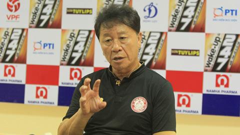 HLV Chung Hae Seong: 'TP.HCM sẽ nỗ lực để giành vị trí cao nhất'
