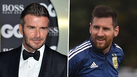 Đội bóng của Beckham chưa hề hỏi mua Messi