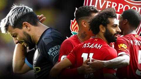 Tổng hợp vòng 5 Ngoại hạng Anh: Liverpool cắt đuôi Man City