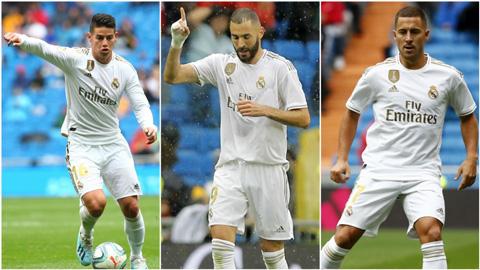 Benzema – James – Hazard: Tam tấu đáng chờ đợi của Real