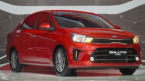 Kia Soluto giá thấp nhất phân khúc, đe nẹt Toyota Vios, Hyundai Accent
