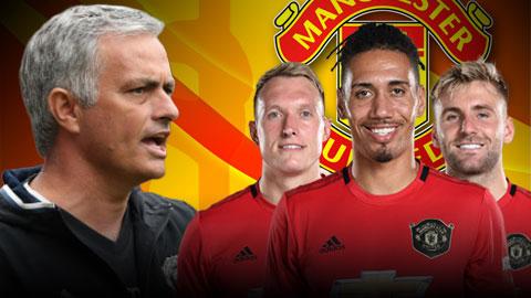 Mourinho không còn nhớ Jones, Smalling, Shaw là ai