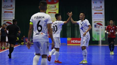 Vòng 18 giải Futsal VĐQG - HDBANK 2019: Gọi tên Thái Sơn Nam hay Sahako?