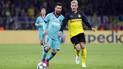 Messi đã trở lại