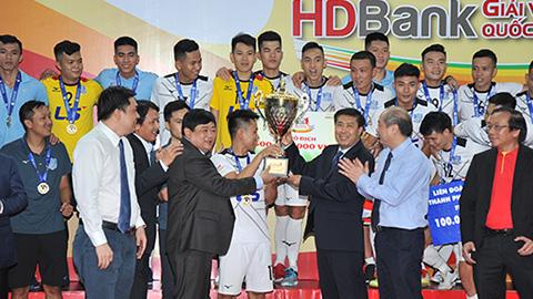 Thái Sơn Nam lần thứ 9 vô địch giải futsal VĐQG