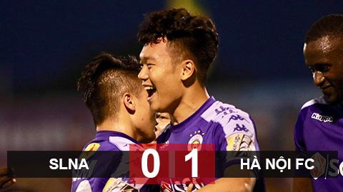 SLNA 0-1 Hà Nội FC: Lập kỷ lục vô địch