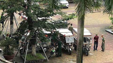 Xe thương binh vây trụ sở VFF, đòi mua vé trận Việt Nam vs Malaysia