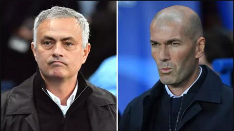 Tỷ lệ cược Mourinho thay Zidane tăng mạnh sau trận thua PSG
