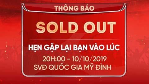 Vé online trận Việt Nam vs Malaysia đã bán hết