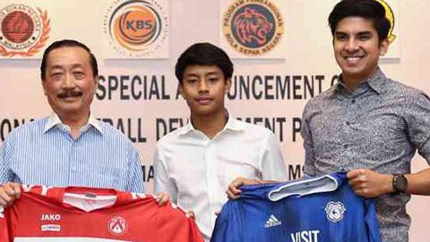 Sao trẻ Malaysia ký hợp đồng 5 năm với CLB của Bỉ, có dịp so tài với Công Phượng
