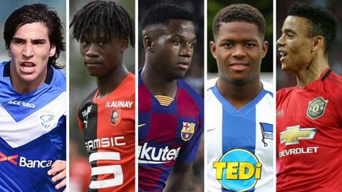 Miền đất hứa cho tài năng trẻ: Số một Ligue 1, tệ nhất Serie A