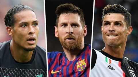 Messi, Ronaldo, Van Dijk, ai sẽ thắng giải The Best?