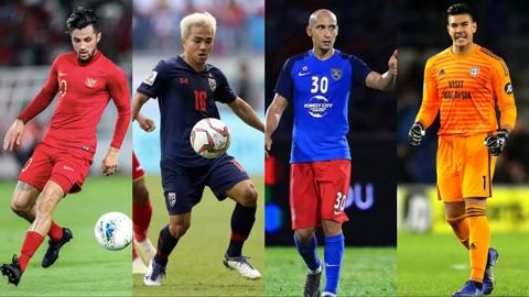 10 cầu thủ đắt giá nhất Đông Nam Á: 5 người Thái, 0 sao Việt