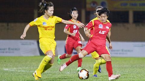 Vòng 11 giải nữ VĐQG - cúp Thái Sơn Bắc 2019: Sớm nhận diện nhà vô địch?