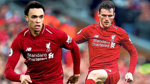 Cặp hậu vệ biên Liverpool hay nhất thế giới
