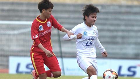 Vòng 11 giải nữ VĐQG 2019: Đánh bại TKS.VN, Hà Nội leo lên vị trí thứ ba