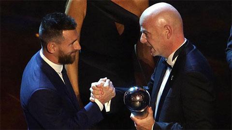Messi đã thua Van Dijk nếu The Best chỉ tính phiếu bầu của nhà báo