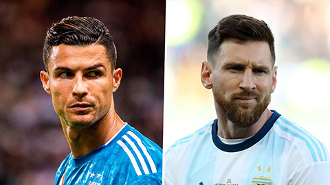 Messi bầu cho Ronaldo nhưng Ronaldo thì không