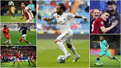 5 hậu vệ trái xứng đáng thay Marcelo ở Đội hình tiêu biểu The Best 2019
