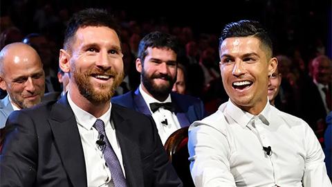Lộ bằng chứng Ronaldo luôn phớt lờ Messi trong các cuộc bầu chọn