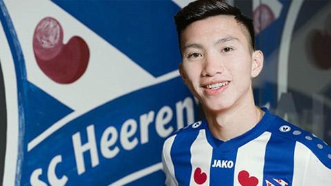Heerenveen muốn biến Văn Hậu thành trụ cột