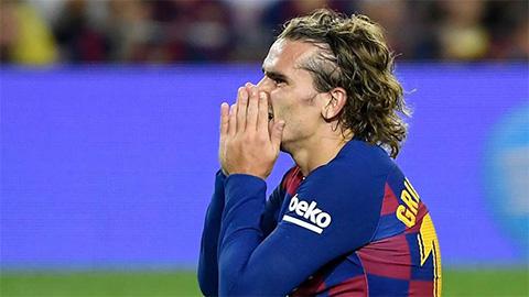 Barca nhận án phạt khó tin vì ''đi đêm'' với Griezmann