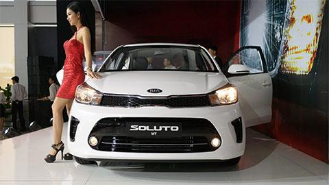 Kia Soluto giá 'siêu rẻ' khiến Toyota Vios, Hyundai Accent lo sốt vó