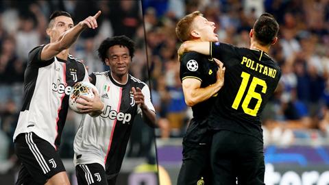 Juve, Inter hình thành cuộc đua song mã