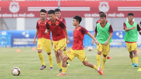 U19 Việt Nam tăng tốc và thử nghiệm